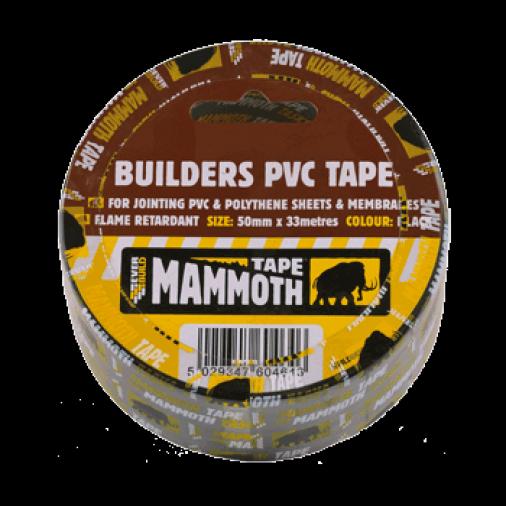 Everbuild Builders PVC Tape 50mm x 33m (24) Image 1