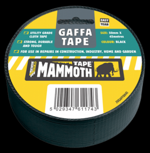 Everbuild Gaffa Tape 50mm x 45m (12) Image 1