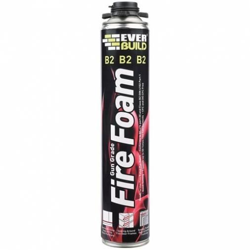 Everbuild Expanding Fire Foam B2 Gun Grade 750ml (12) Image 1