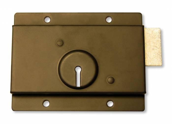 Basta BW452 Press Rim Lock 5 x 4