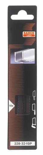Bahco 228-32-10P Junior Hacksaw Blades Pk 10 Image 1