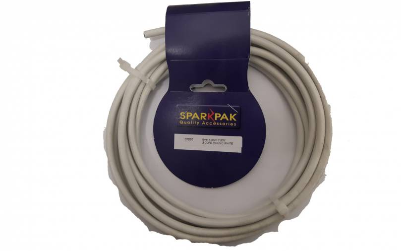 SparkPak CP8/10 3 Core & Earth Cable 1.0mm x 10mm Image 1
