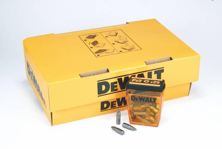 Dewalt DT7909 PH2 Phillips Bits 25mm Pk 20 Image 1
