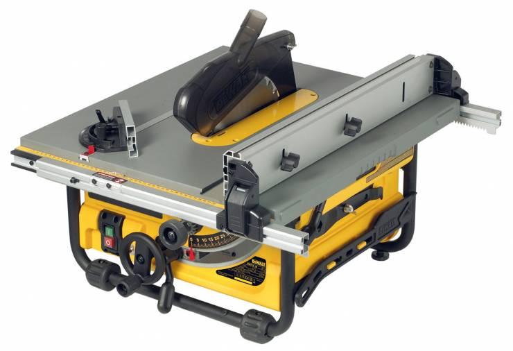 Dewalt DWE7485 Table Saw 250mm w/ DWE7400 Rolling Stand Image 2
