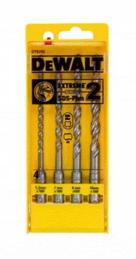 Dewalt DT9702 EXTREME 2™ SDS-Plus Masonry Drill Bits 4pc Image 2