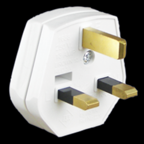 SparkPak E01 Plug 13A White Image 1
