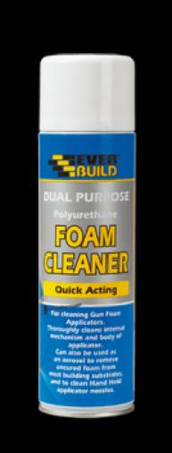 Everbuild Dual Purpose Foam Cleaner 500ml (12) Image 1