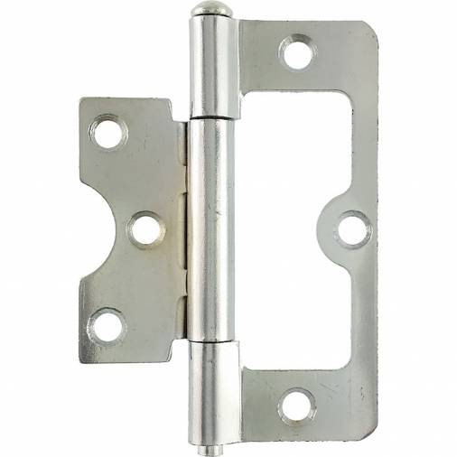No. 104 hurlinges Fixed Pin Chrome Pair Image 1