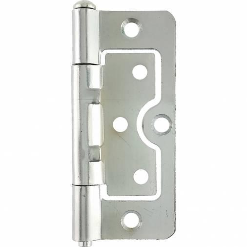 No. 104 hurlinges Fixed Pin Chrome Pair Image 2