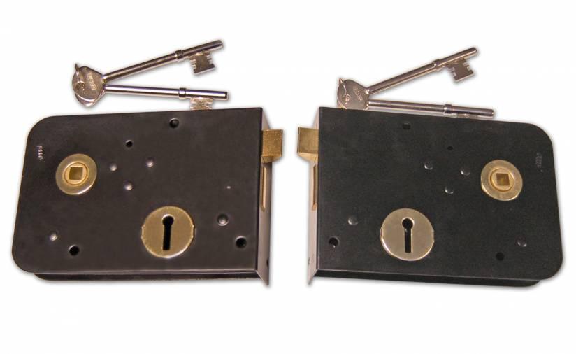 Basta Handed Rim Locks 6 x 4