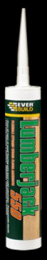 Everbuild Lumberjack 550 Floor Adhesive Foil pack 600ml Image 1