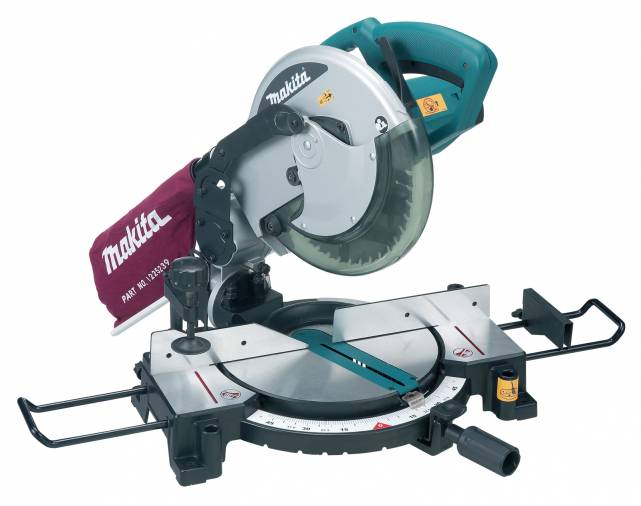 Makita MLS100 Mitre Saw 255mm Image 1