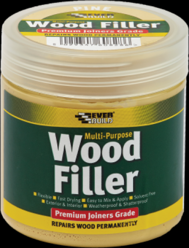 Everbuild Premium Wood Filler 250ml (6) Image 1