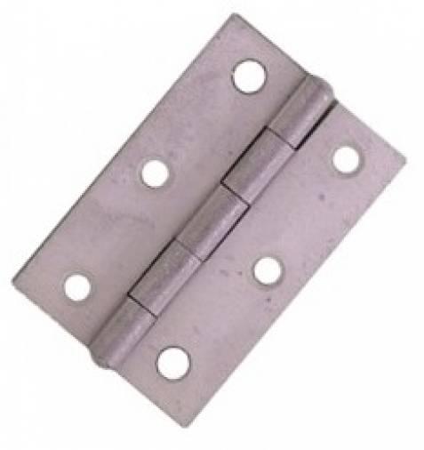 No. 5050 Narrow Butt Hinges Sherardised Pair Image 1