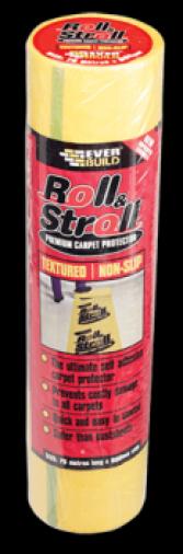 Everbuild Roll & Stroll Non-Slip Carpet Protector 75m Image 1