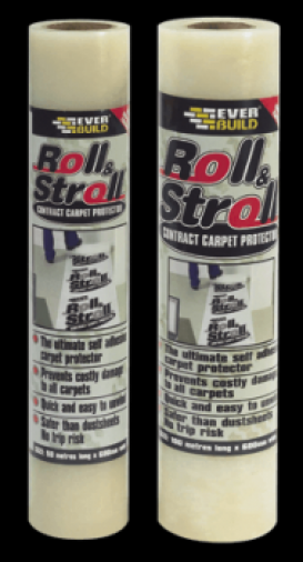 Everbuild Roll & Stroll Contract Carpet Protector Image 1