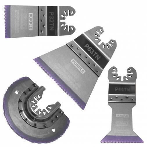Smart P4MAX Purple Series Bi-M Blade Set Pk4 Image 2