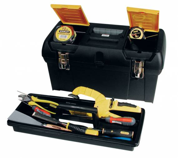 Stanley 1-92-066 Plastic Tool Box 19