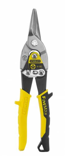 Stanley Compound Aviation Tin Snips Straight Image 1
