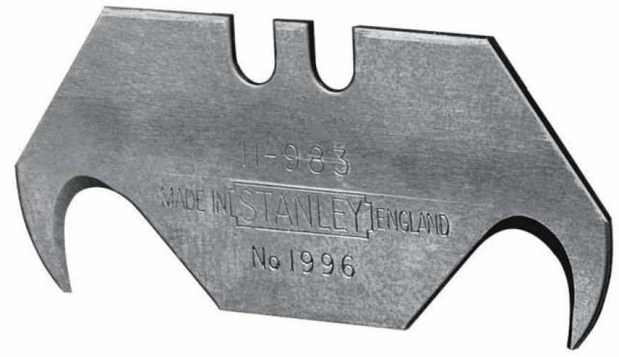 Stanley 1996 Hooked Knife Blades Image 1
