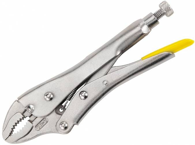 Stanley 0-84-809 Locking Pliers Curved Jaw 9