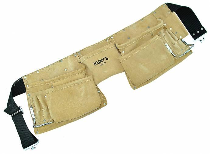 Kunys AP-427X Leather Carpenters Apron Image 1