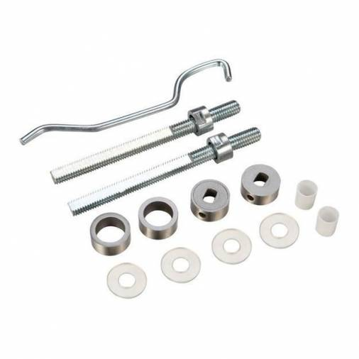 Zoo ZBBF19SS B2B Fixing Pack for Pull Handles - Satin Stainless  Image 1