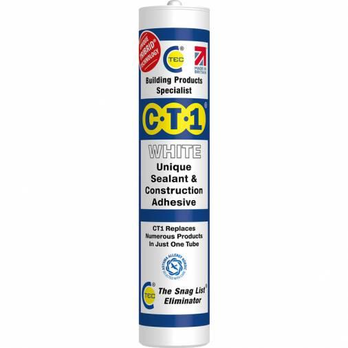 C-Tec CT1 Multi-Purpose Adhesive & Sealant - 290ml Image 1