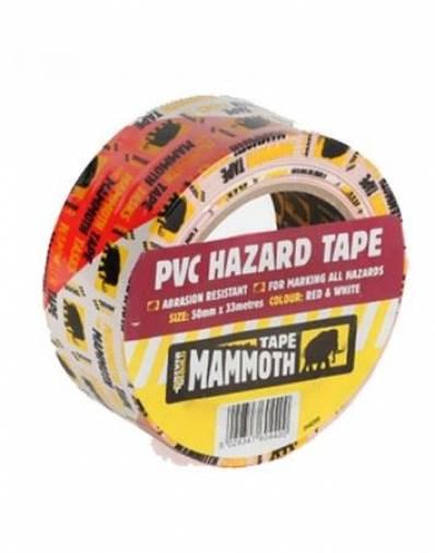 Everbuild PVC Hazard Tape 50mm x 33m  Image 1