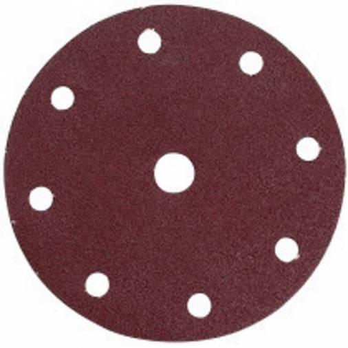 Makita Velcro Backed Abrasive Discs 150mm - Pack 10 Image 1