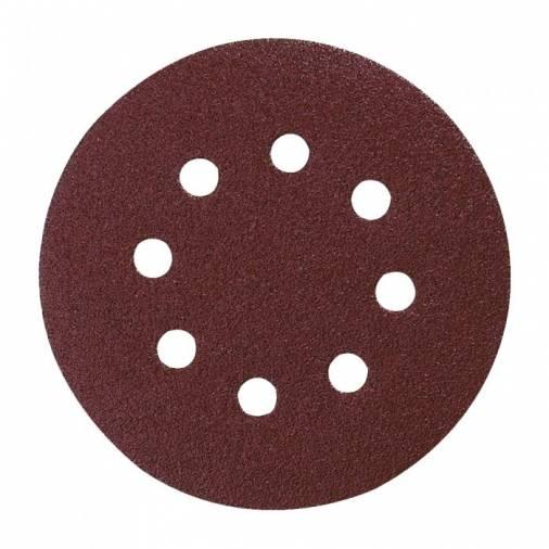 Makita Velcro Backed Abrasive Discs 125mm - Pack 10 Image 1