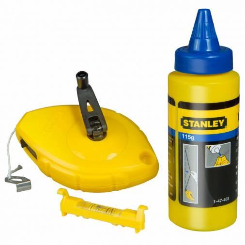 Stanley 0-47-443 Chalk Line Set - 30m Image 1