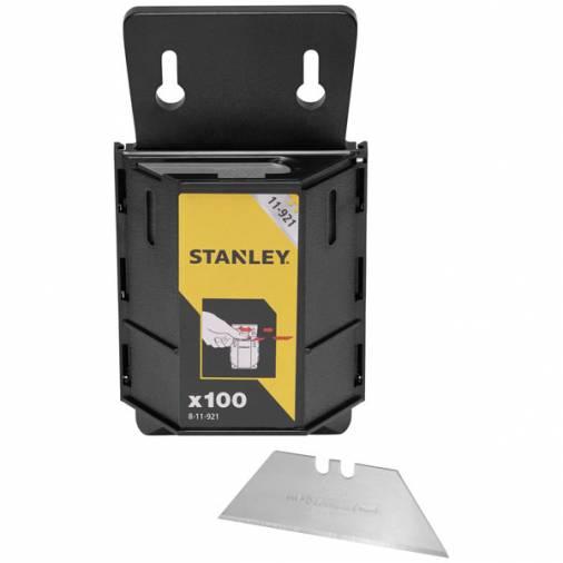 Stanley 8-11-921 1992 Utility Knife Blades & Dispenser - Pack 100  Image 1