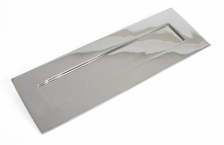 Polished Chrome Large Letter Plate Image 1