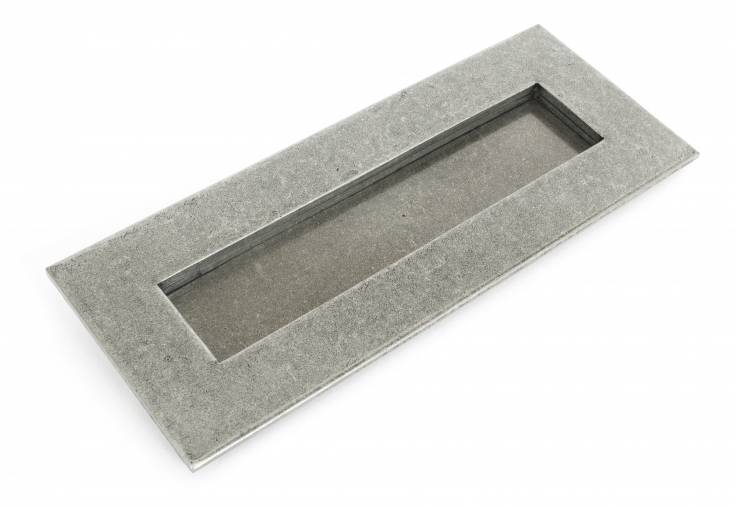 Anvil 33058 Pewter Small Letter Plate Image 1