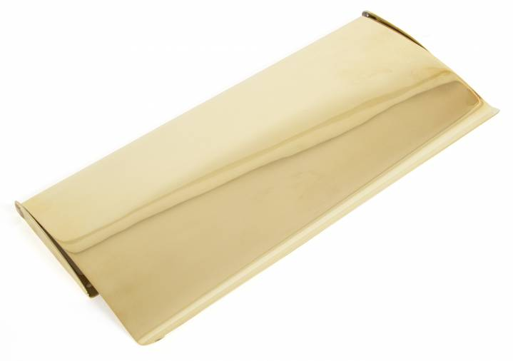 Anvil 33061 Polished Brass Small Letter Plate Cover Image 1