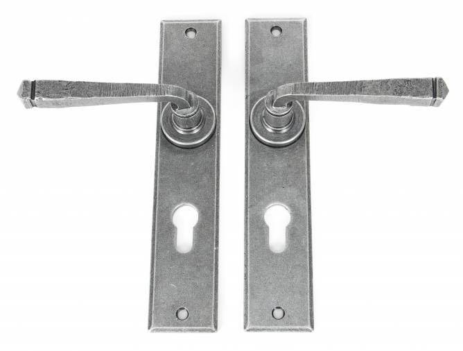 Anvil 33088 Pewter Large Avon 72mm Centre Euro Lock Set Image 2