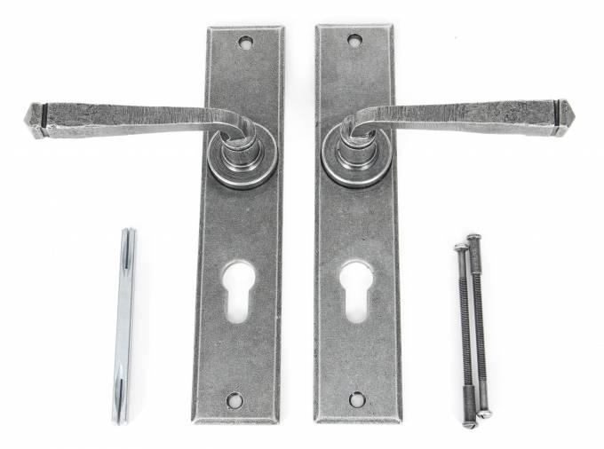 Anvil 33088 Pewter Large Avon 72mm Centre Euro Lock Set Image 3