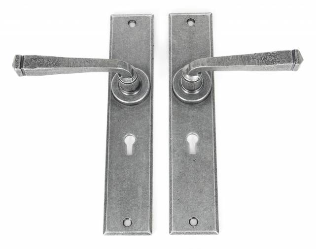 Anvil 33089 Pewter Large Avon Lever Lock Set Image 2