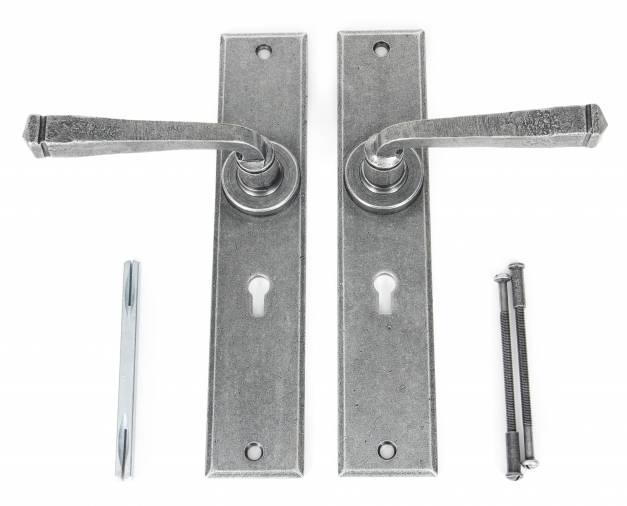 Anvil 33089 Pewter Large Avon Lever Lock Set Image 3