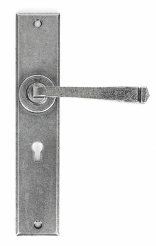 Anvil 33089 Pewter Large Avon Lever Lock Set Image 1