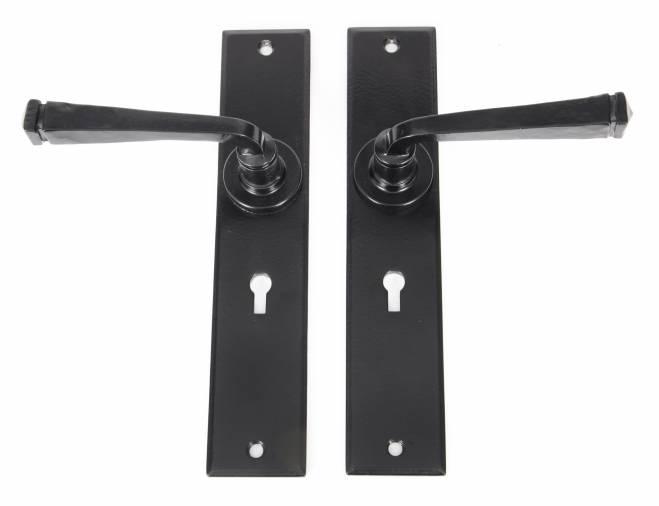 Anvil 33093 Black Large Avon Lever Lock Set Image 2