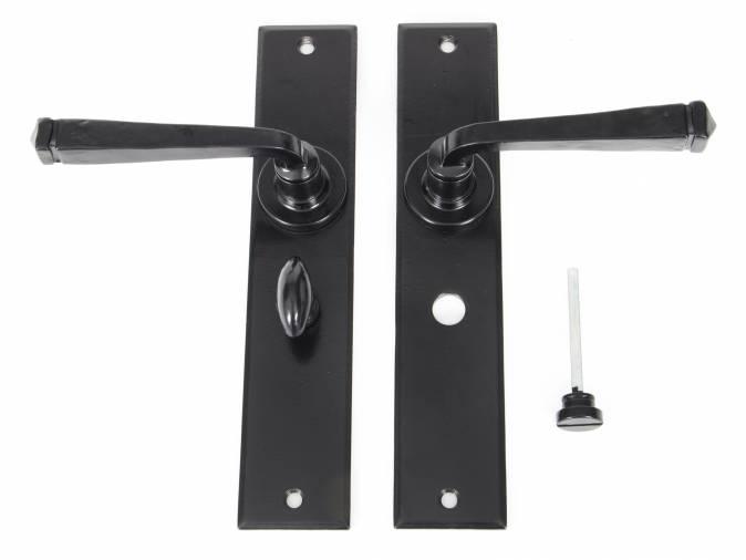 Anvil 33095 Black Large Avon Lever Bathroom Set Image 4