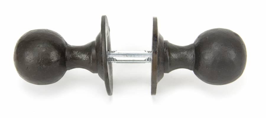 Beeswax Round Mortice/Rim Knob Set Image 3