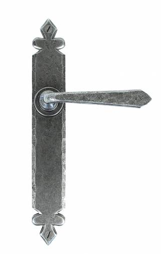 Pewter Cromwell Lever Latch Set Image 1
