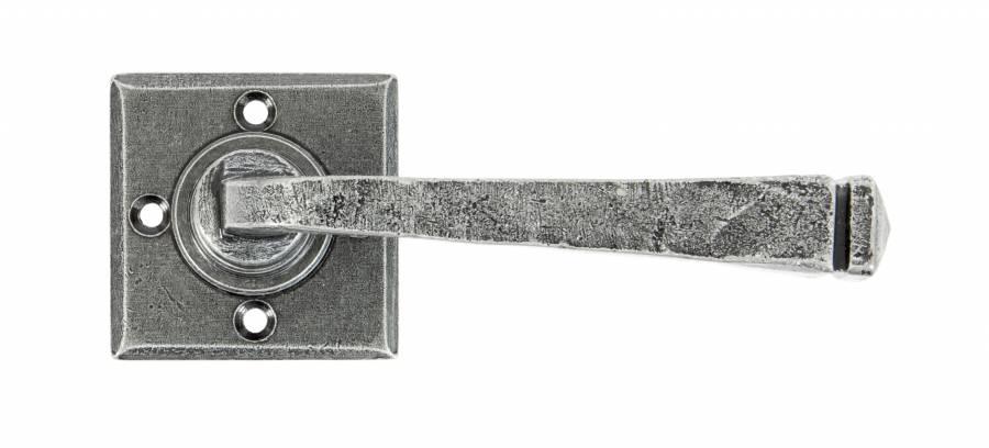 Pewter Avon Lever on Rose Set Unsprung Image 1