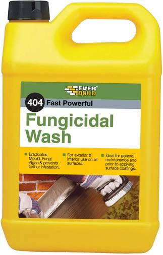 Everbuild 404 Fungicidal Wash - 5 Litre  Image 1