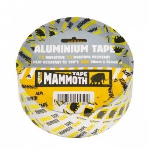 Everbuild Aluminium Tape Silver 50mm x 45m   Image 1