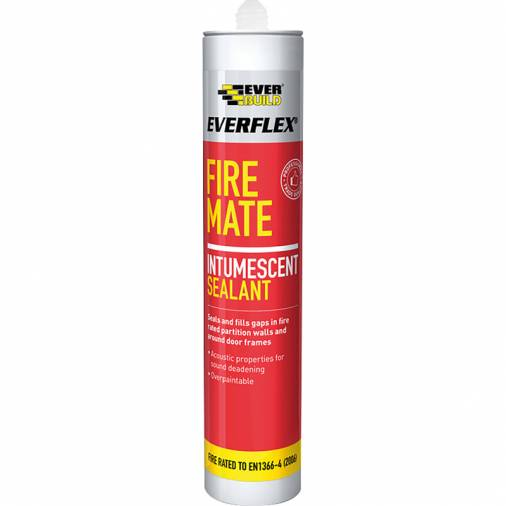 Everbuild Fire Mate Intumescent White 300ml  Image 1