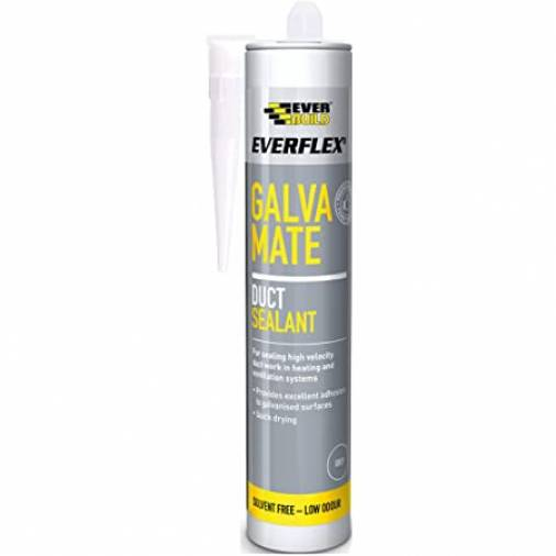 Everbuild Galva Mate Sealant Grey 300ml  Image 1